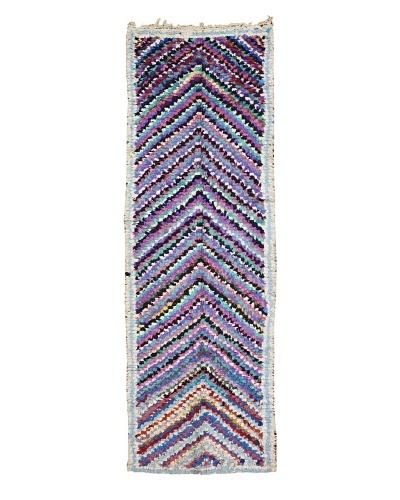 Mili Designs NYC Boucherouite Rug, Multi, 3' x 9' 3 Runner