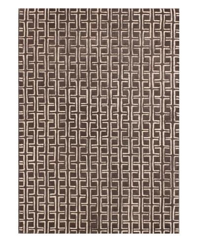 Mili Designs NYC Linked Squares Rug, 5' x 8'
