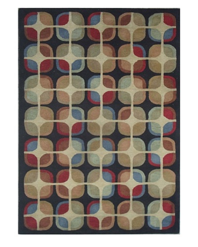 Mili Designs NYC Retro Squares Rug, 5' x 8'