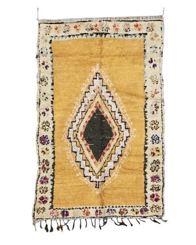 Mili Designs NYC Vintage Moroccan Rug, Peach, 4' x 6' 6
