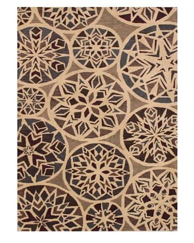 Mili Designs NYC Kaleidoscope Rug, 5' x 8'