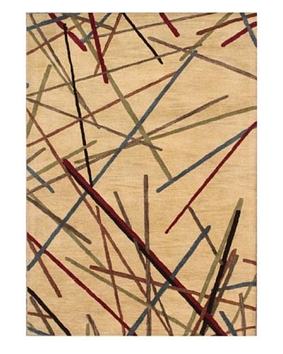 Mili Designs NYC Sticks Rug, 5' x 8'