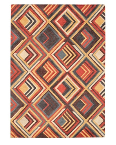 Mili Designs NYC Oz Patterned Rug, Multi, 5' x 8'