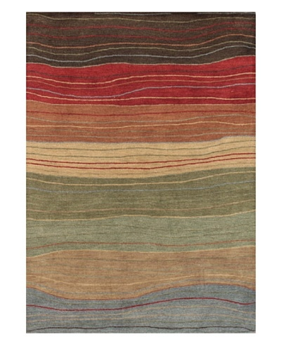 Mili Designs NYC Layers Rug, 5' x 8'