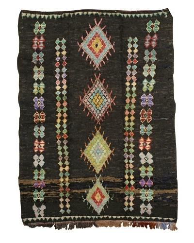 "Mili Designs NYC Boucherouite Rug, Black/Multi, 5' 11"" x 8' 2"""