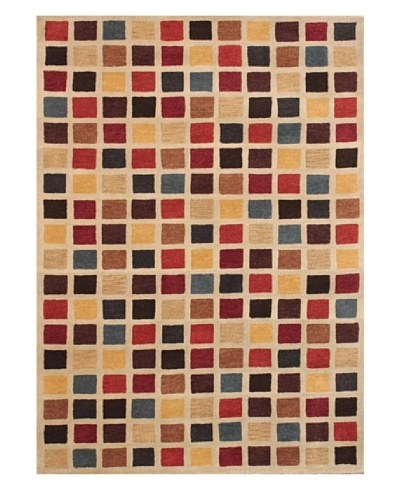 Mili Designs NYC Colorful Pixels Rug, 5' x 8'