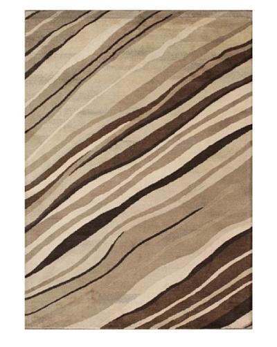 Mili Designs NYC Dune Patterned Rug, Tan/Multi, 5' x 8'