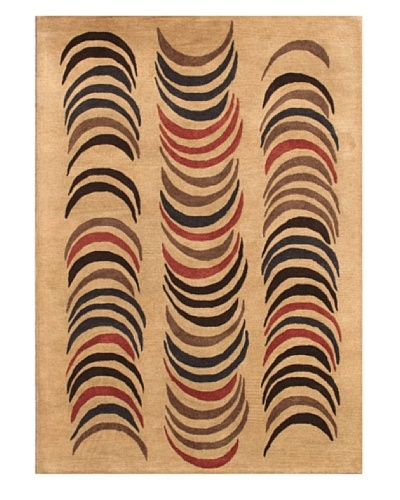 Mili Designs NYC Half Moon Rug, 5' x 8'
