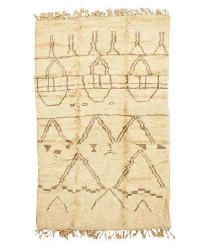 Mili Designs NYC Moroccan Beni Ourain, Berber, 5' 4 x 8' 9