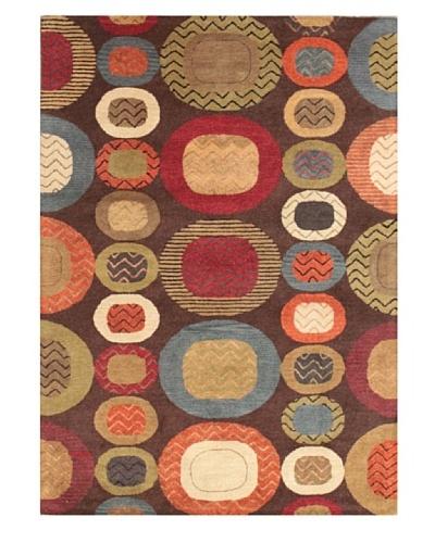 Mili Designs NYC Mondrian Patterned Rug, Multi, 5' x 8'