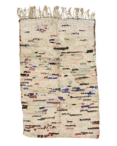 Mili Designs NYC Boucherouite Rug, Pastel, 4' x 6' 1