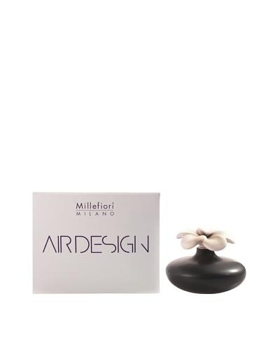 Millefiori Milano Porcelain Flower Diffuser, Black