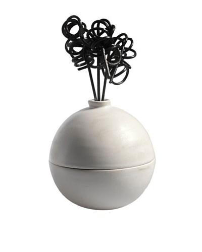 Millefiori Milano Ceramic Sphere Diffuser, White