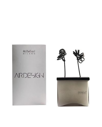 Millefiori Milano Ceramic Rectangular Flower Diffuser, Grey