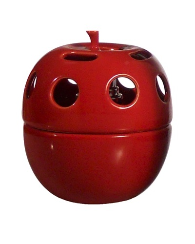 Millefiori Milano Apple Catalytic Diffuser, Red