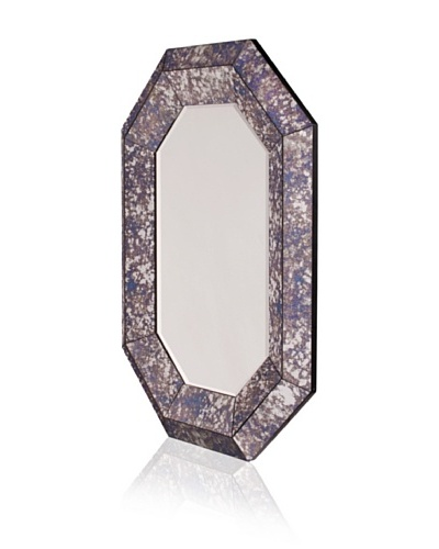 Lisa Carrier Jet Feather 5 X 7 Picture Frame With Mirror