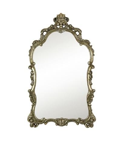 Majestic Mirrors Regine Mirror, Silver, 63 x 38