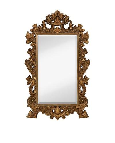 Majestic Mirrors Florian Mirror, Bronze, 56 x 32