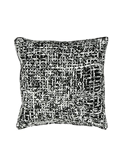 Miss Blackbirdy Basket Weave Pillow Cover
