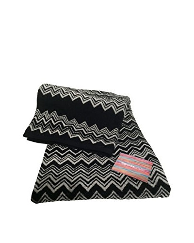 Missoni Keith Bath Sheet, Black