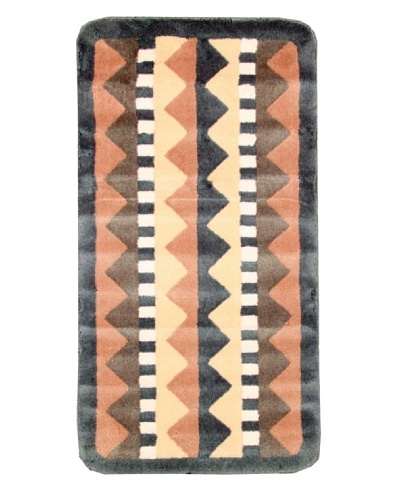 Missoni Aztec Bath Rug, Multi, 1' 10 x 3' 8