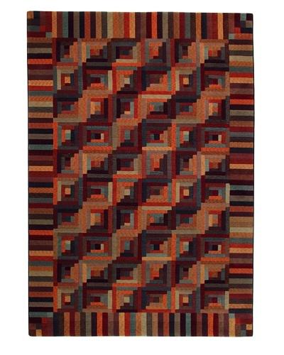 Missoni Masters Collection Mykonos Pavone Rug, Multi, 6' 7 x 9' 10