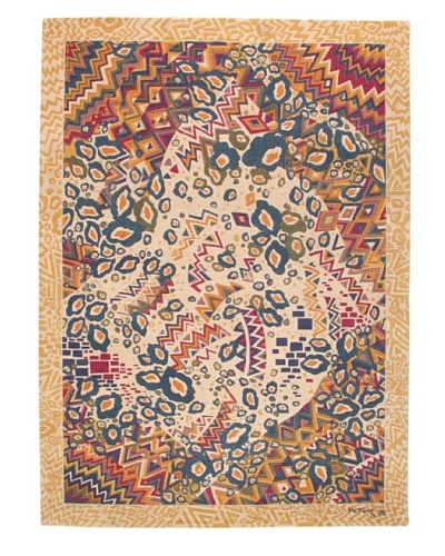 Missoni Hand Knotted & Hand Carved Rio Yellow Rug, Multi, 5' 7 x 7' 10'