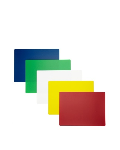 MIU France Set of 5 Flexible Color-Coded Flexible Cutting Boards