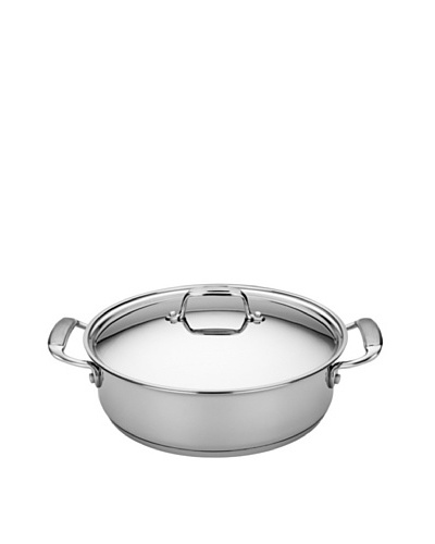 MIU France Stainless Steel 5-Qt. Casserole Dish with Lid
