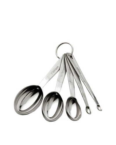 MIU France Stainless Steel 5-Piece Odd-Size Measuring Spoon Set