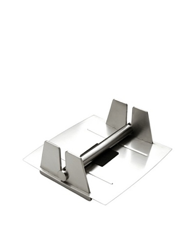 MIU France Brushed Stainless Steel Paper Napkin Holder