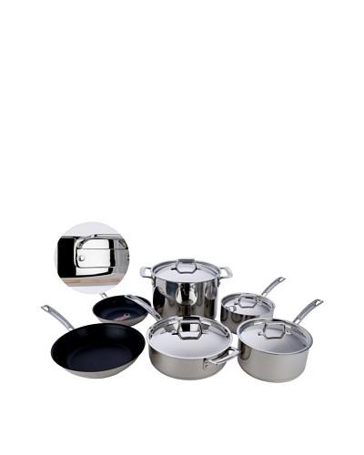 MIU France 10-Piece Copper Core Cookware Set