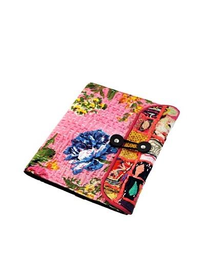 Modelli Creations Khambari Fabric iPad Case, Pink