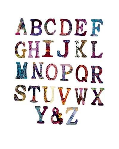Modelli Creations Chindi Alphabet Set (A-Z, &)