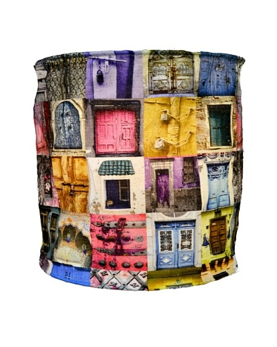 Modelli Creations Journey Of India Blue & Pink Door Lamp Shade