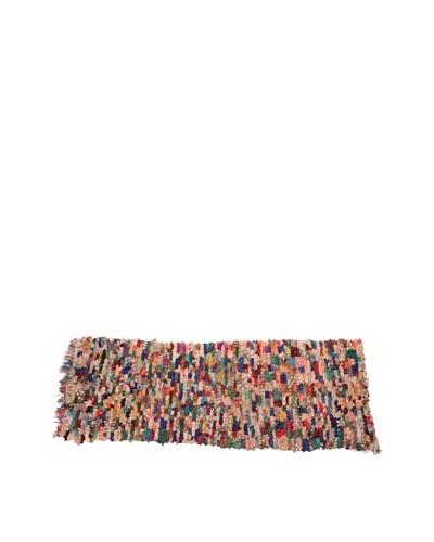 Moroccan Rag Rugs, Beige Multi