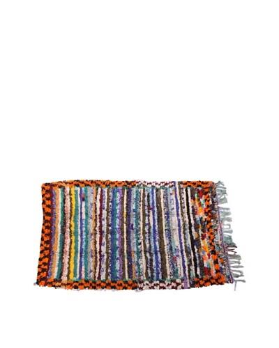 Moroccan Rag Rugs, Orange Multi