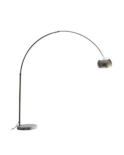 Modway Sunflower Round Floor Lamp, White