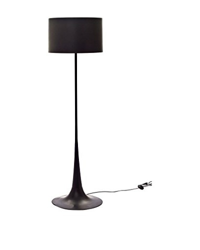 Modway Silk Floor Lamp, Black