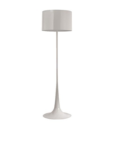 Modway Silk Floor Lamp, White