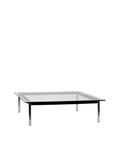 Modway Charles Square Coffee Table, Black