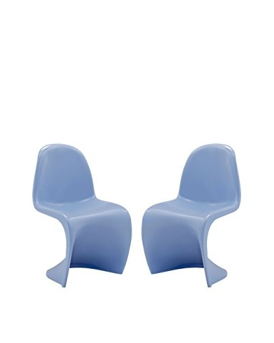 Modway Slither Set of 2 Kid's Chairs