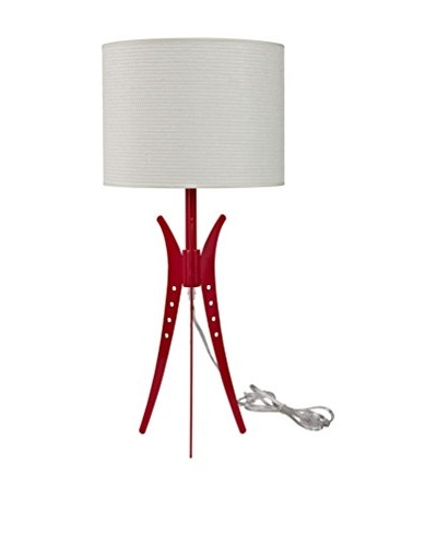 Modway Flair Table Lamp, White