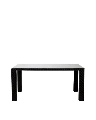 Modway Bella Dining Table, Espresso White