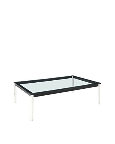 Modway Charles Rectangle Coffee Table, Black