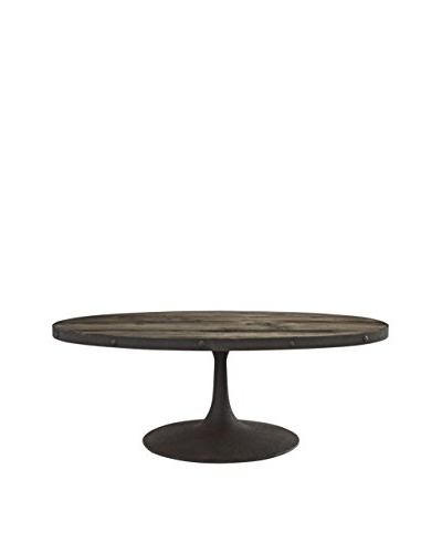 Modway Drive Wood Top Coffee Table, Brown