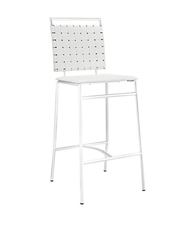 Modway Fuse Bar Stool, White