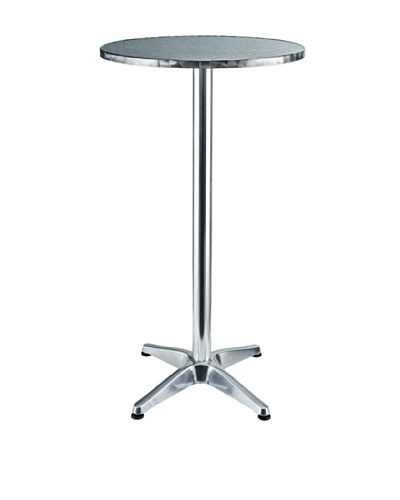 Modway Elevate Aluminum Bar Table, SilverAs You See