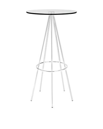 Modway Sync Bar Table, Clear