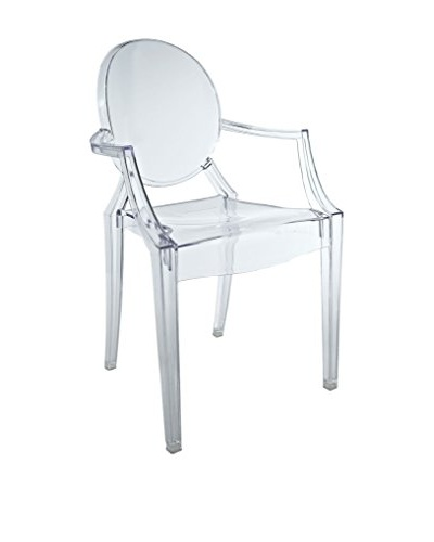 Modway Casper Kid's Chair, Clear
